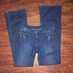Cache Vintage Embellished Jeans